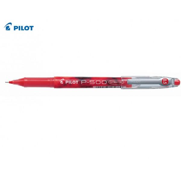 Στυλό Μαρκαδόρος Ρ-500 0.5mm Κόκκινο Pilot