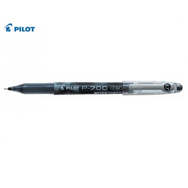 Στυλό Μαρκαδόρος Ρ-700 0.7mm Mαύρο Pilot