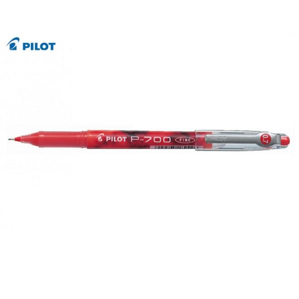 Στυλό Μαρκαδόρος Ρ-700 0.7mm Κόκκινο Pilot
