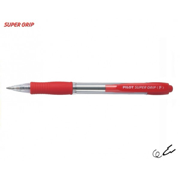 Στυλό Super Grip Pilot Fine 0.7mm Κόκκινο