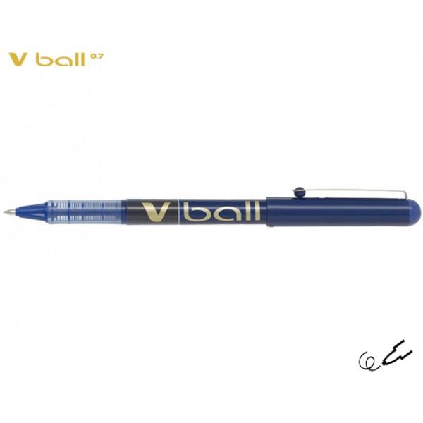 Στυλό Μαρκαδόρος V-Ball 0.7mm Μπλε Pilot