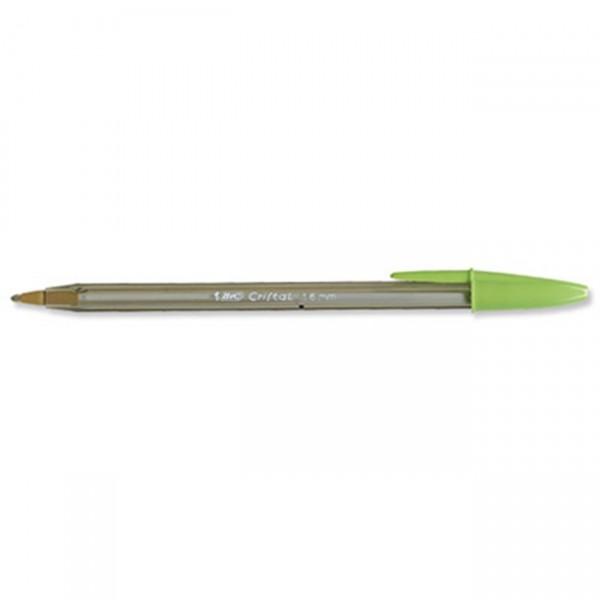 Στυλό Cristal Fun 1.6mm Λαχανί Bic