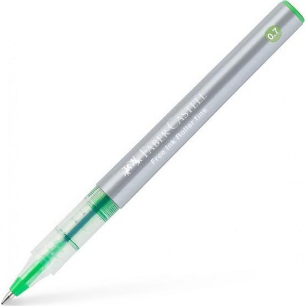 Στυλό Free Ink Roller Fine Λαχανί Faber Castell