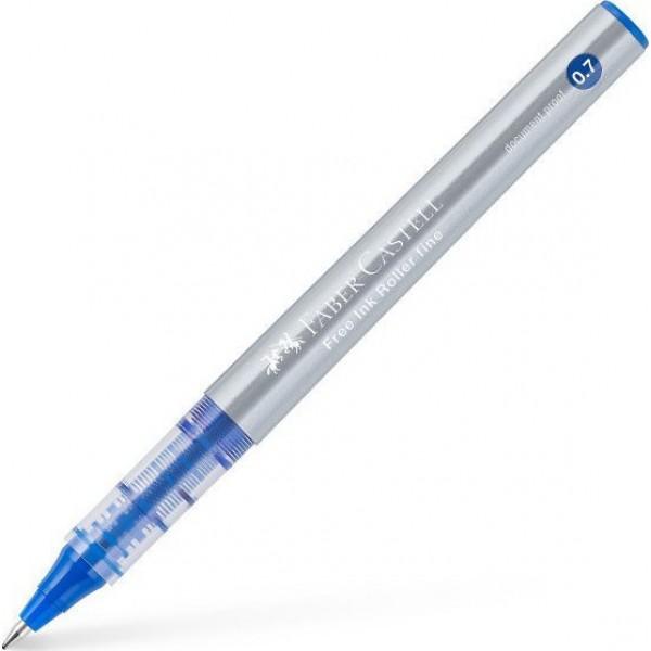 Στυλό Free Ink Roller Fine Μπλε Faber Castell