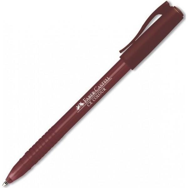 Στυλό CX Colour 1.0mm Καφέ Faber Castell