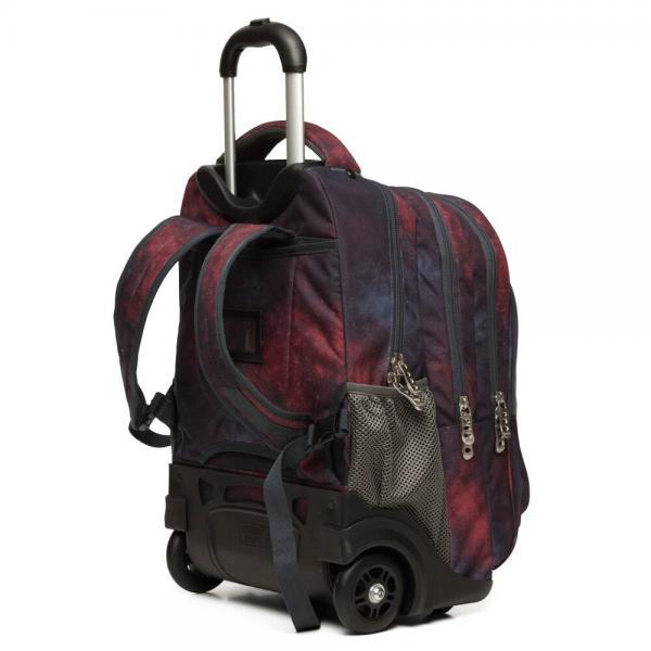 Σακίδιο Wheelix - Glow Τρόλεϊ  9-01-264-8004 Polo