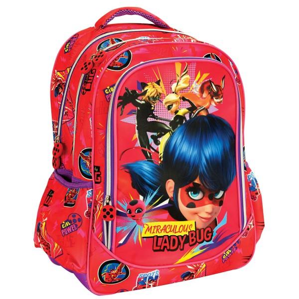 Σακίδιο Ladybug Girl Power Gim