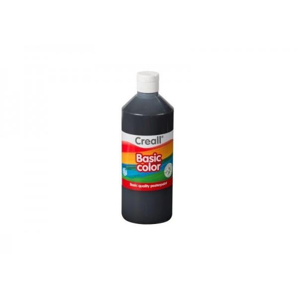 Τέμπερα Basic Color 500ml 20 Black Creall