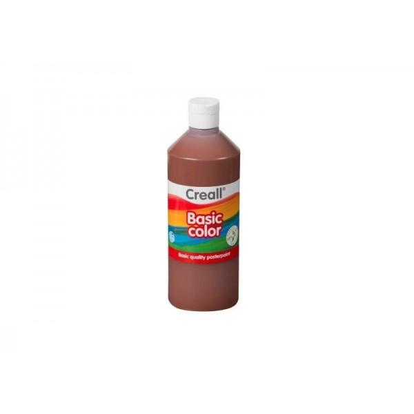 Τέμπερα Basic Color 500ml 19 Dark Brown Creall