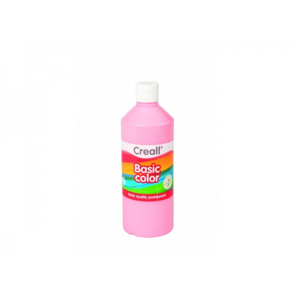 Τέμπερα Basic Color 500ml 23 Pink Creall