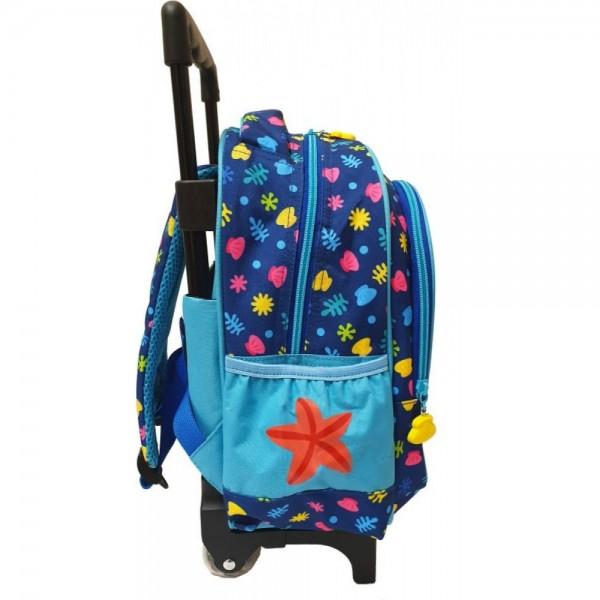 Τσάντα Νηπίου Baby Shark Trolley 334-64072