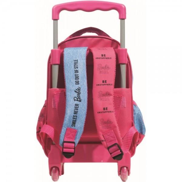 Τσάντα Νηπίου Trolley Barbie Denim Fashion 349-66072