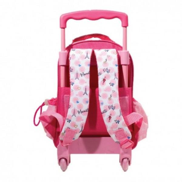 Τσάντα Νηπίου Miraculous Ladybug Trolley 346-04072