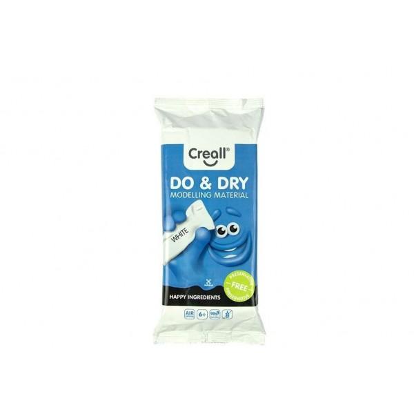 Πηλός Καλλιτεχνίας Λευκός 500gr. Creall Do & Dry