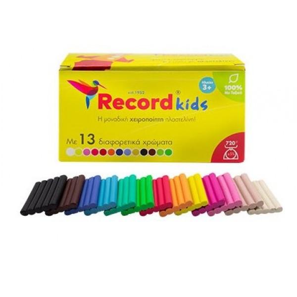 Πλαστελίνη Σετ 11 Χρώματα Record A